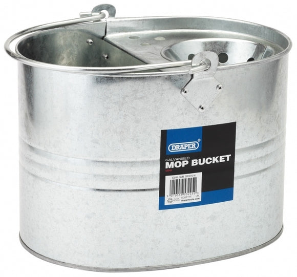 Draper Galvanised Mop Bucket