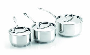 Viners Vision Cookware 3 Piece Saucepan Set