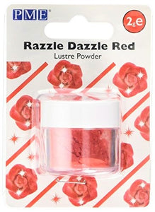PME Lustre Powder Red