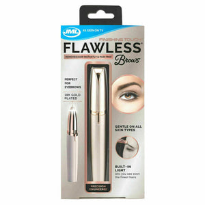 JML Finishing Touch Flawless Brows Battery Powered Face Epilator