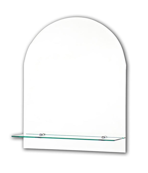 Tema 50*40 cm  Mirror With Glass Shelf
