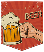 Poche free beer