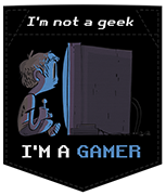 Poche no geek but gamer