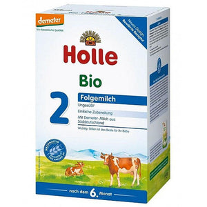 Holle Stage 2 Organic (Bio) Follow-on Infant Baby Milk Formula (600g)