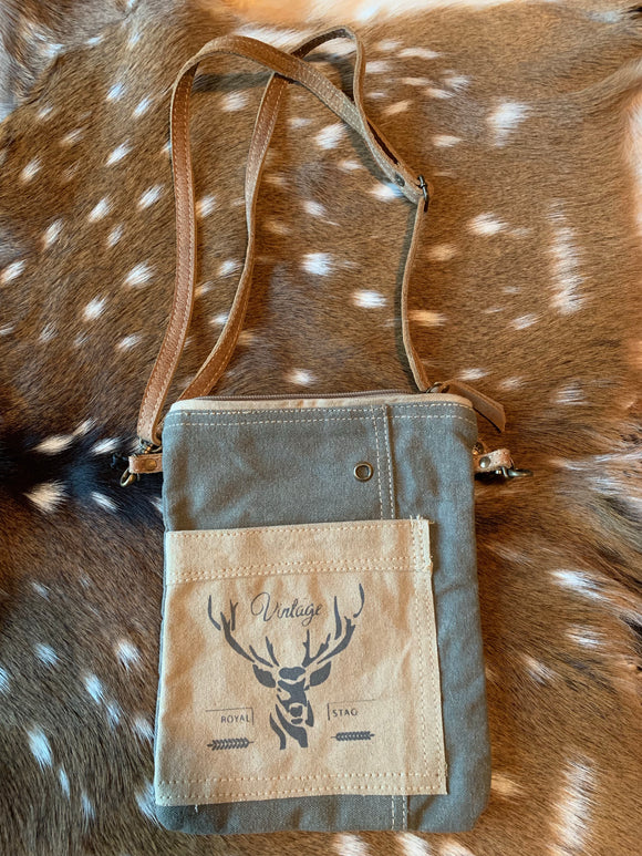 Vintage Stag Crossbody SALE