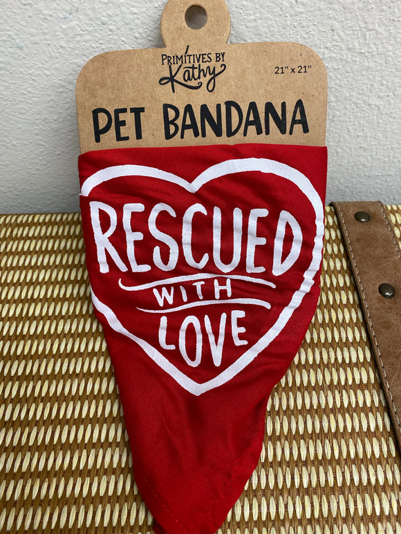 Rescued Pet Bandana