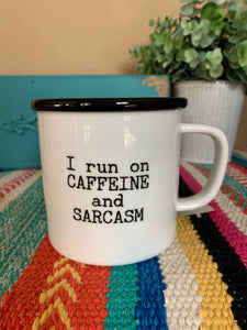 Caffeine and Sarcasm Mug