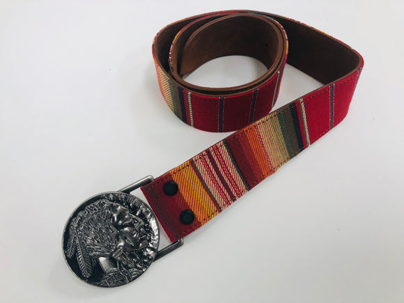 Serape Buffalo Belt