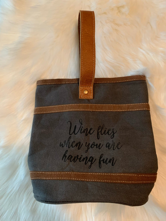 Double Wine Tote SALE