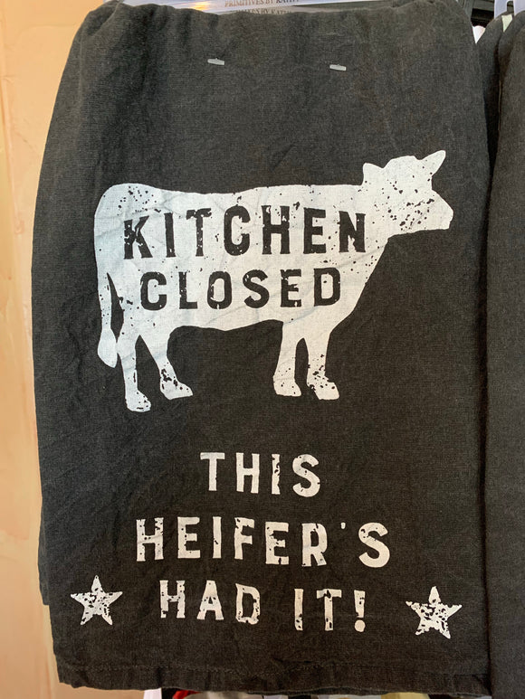 Kitchen Closed Dish Towel