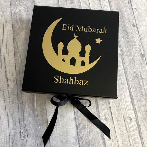 Eid Mubarak Personalised Gift Eid and Ramadan Celebration Keepsake Box