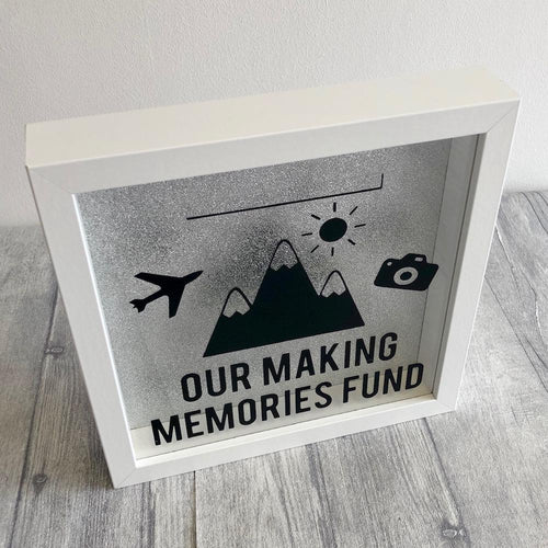 Our making memories Saving Fund Money box