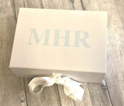 Personalised Initials small Keepsake Gift Box