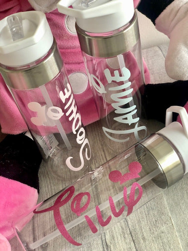 Personalised Disney Mickey Mouse Ears water gym bottle