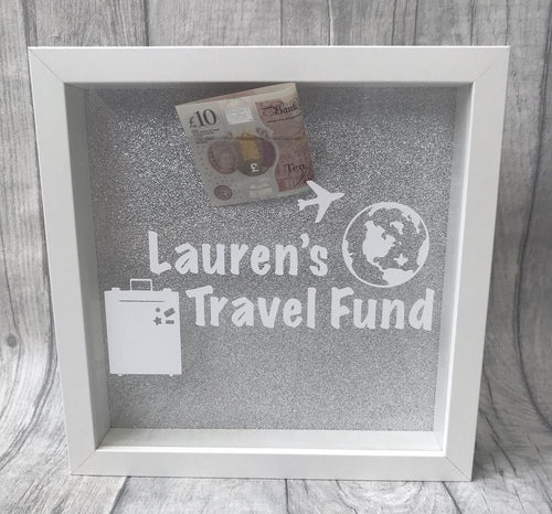 Personalised Travel Fund Money box