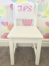 A gorgeous, expensive looking chair that will fit any classy bedroom interior. A modern style with beautiful pristine colours for your little one. Can be personalised for a boy or a girl.