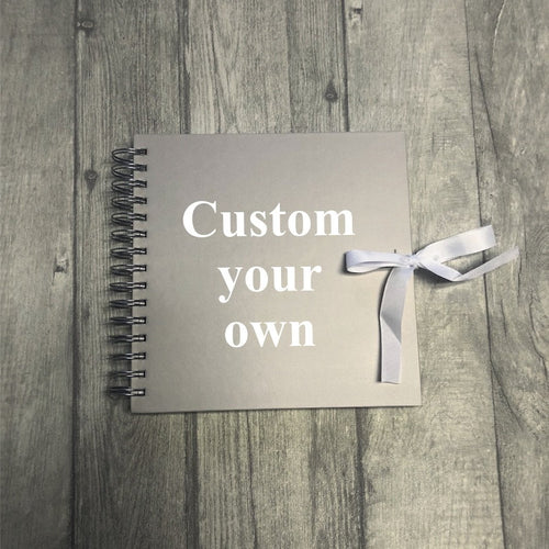 Customise your own scrapbook