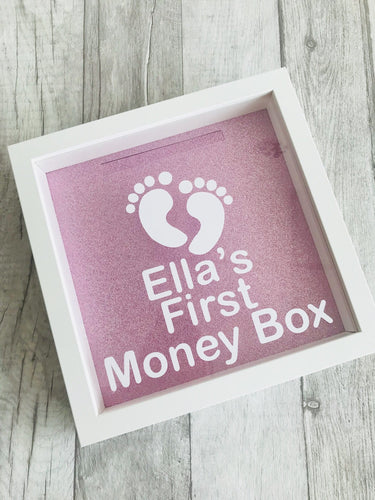 Personalised First Money Box Baby Fund Gift