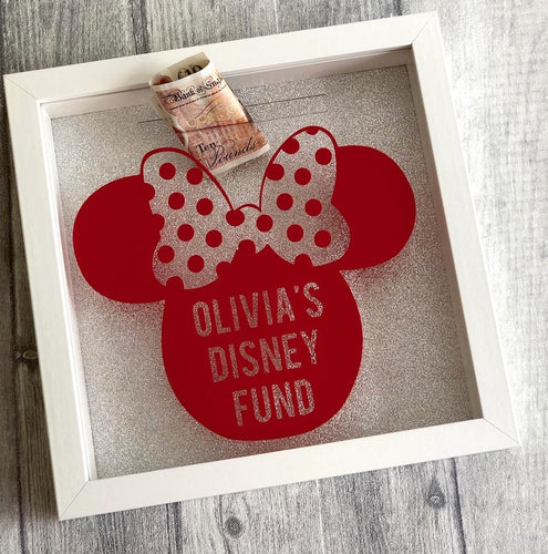 Personalised Minnie Mouse Disney Saving Fund Money box