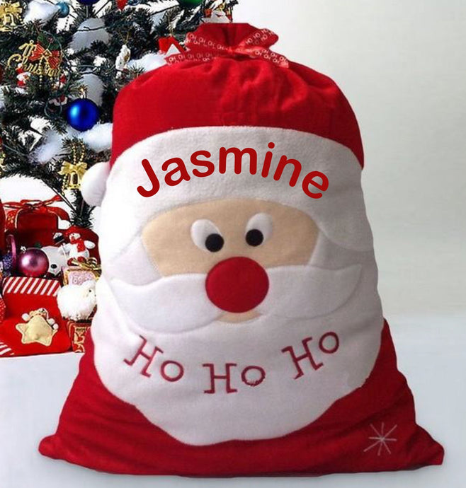 christmas Santa bags, unique, Handmade so high quality at affordable prices, follow us on Instagram