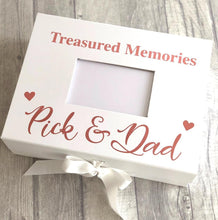 Treasured Memories A4 Photo Box Remembrance Keepsake Bereavement Gift