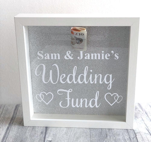 Wedding Fund Personalised Engagement Money box gift