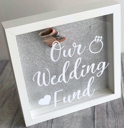 Our Wedding Fund Engagement Money box gift