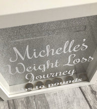 Gorgeous personalised family saving funds are such a good gift for family, friends, loved ones or a gift to yourself if you are saving money for something special. Whether it be a holiday or a designer handbag. This money saving box will be the start of making your dreams a reality.