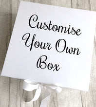 Personalise Your Own White Gift Keepsake Box