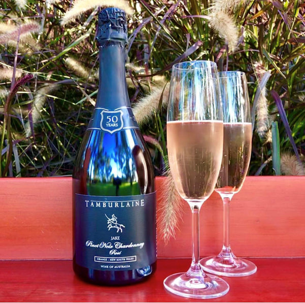 Jake Sparkling Rose - Tamburlaine Organic Wines