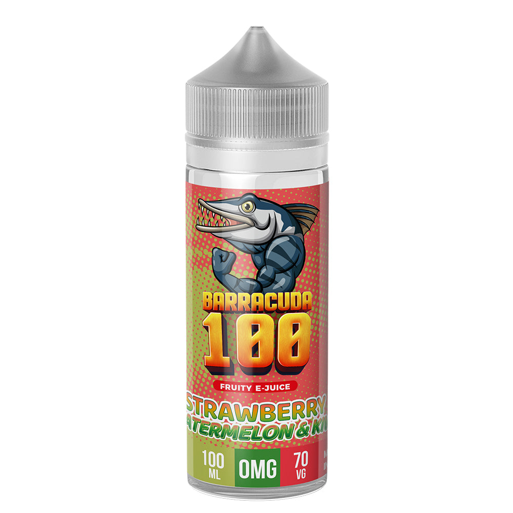 Barracuda 100 - Strawberry, Watermelon & Kiwi