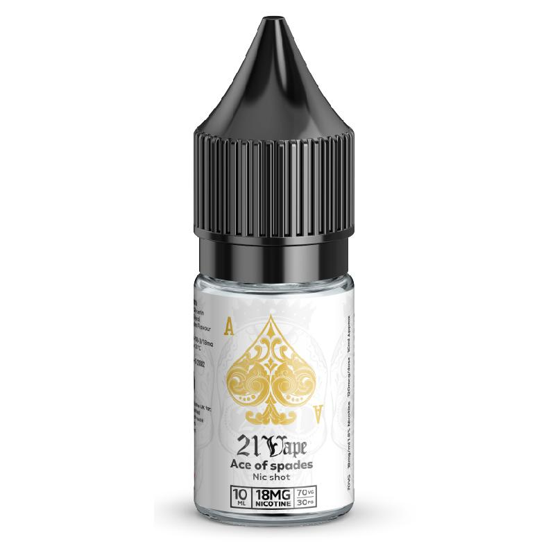 21 Vape Nic - Ace of Spades
