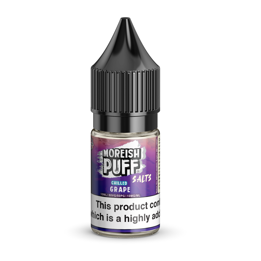 Moreish Puff Nic Salt - Chilled - Grape