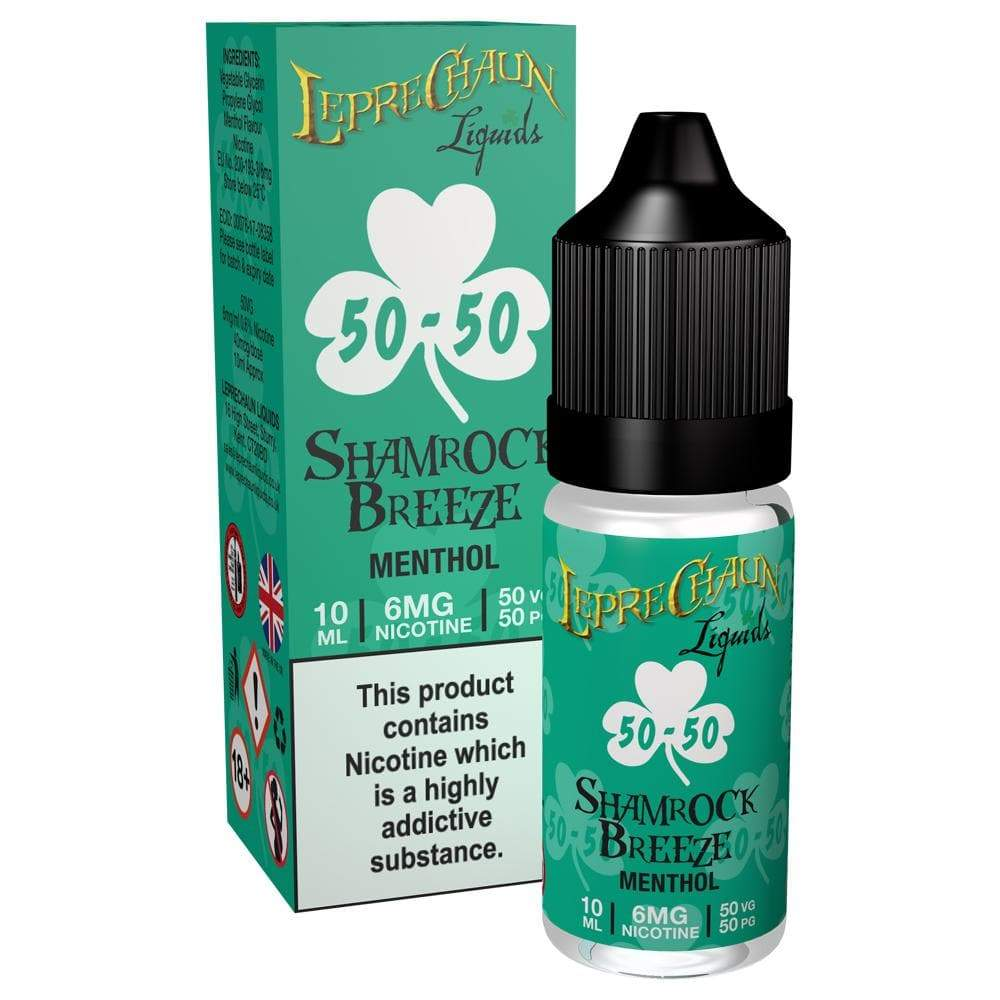 Leprechaun 10ml 50-50 - Shamrock Breeze