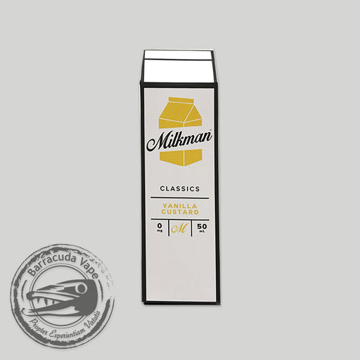 The Milkman Classics Shortfill - Vanilla Custard