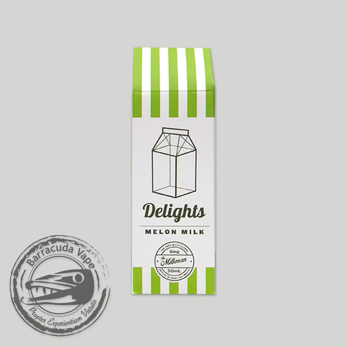 The Milkman Delights Shortfill - Melon Milk