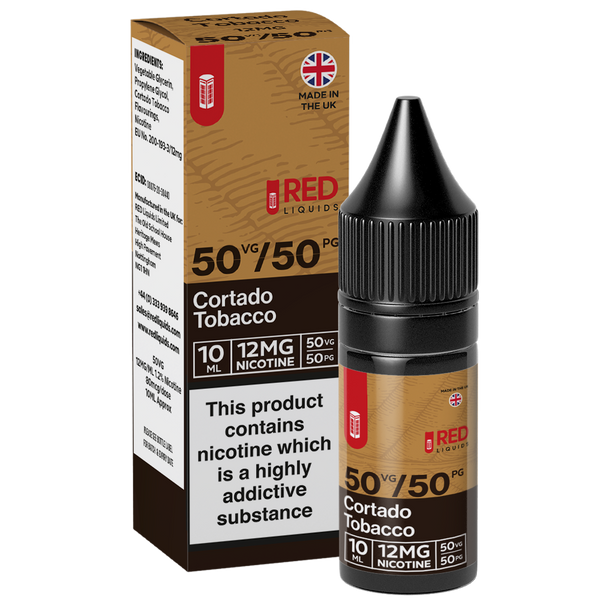 RED Tobacco 10ml - Cortado