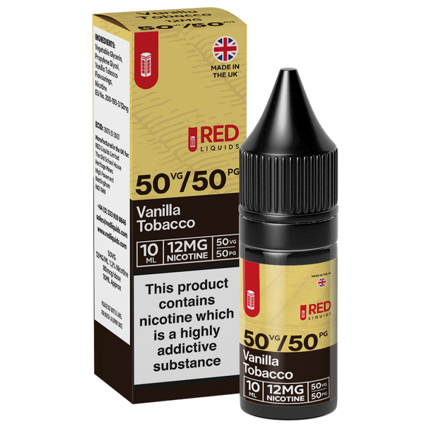 RED Tobacco 10ml - Vanilla