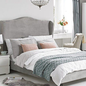 Chateaux Bed - Silver - Springer Interiors