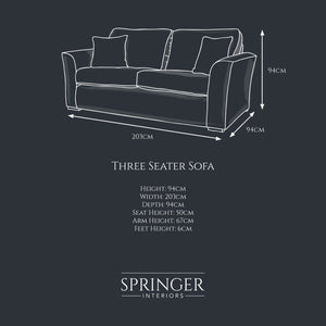 Oxford Three Seater - Springer Interiors