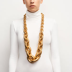 Long gold chain necklace Monies Shanghai