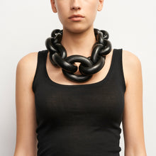 Load image into Gallery viewer, Chunky chain necklace in acacia