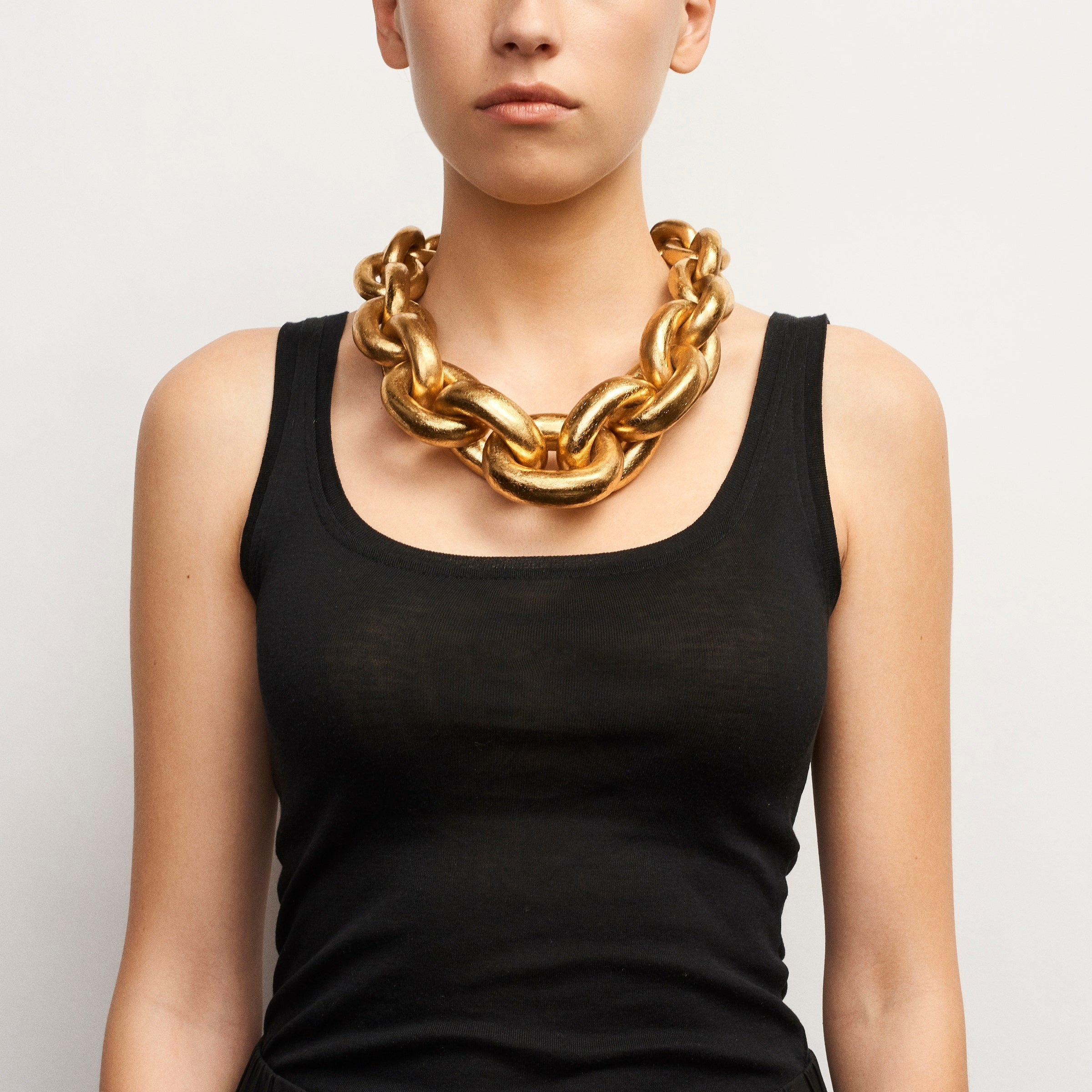 Chain necklace in acacia