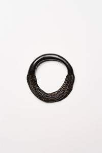 Mantova necklace in horn and kamagong