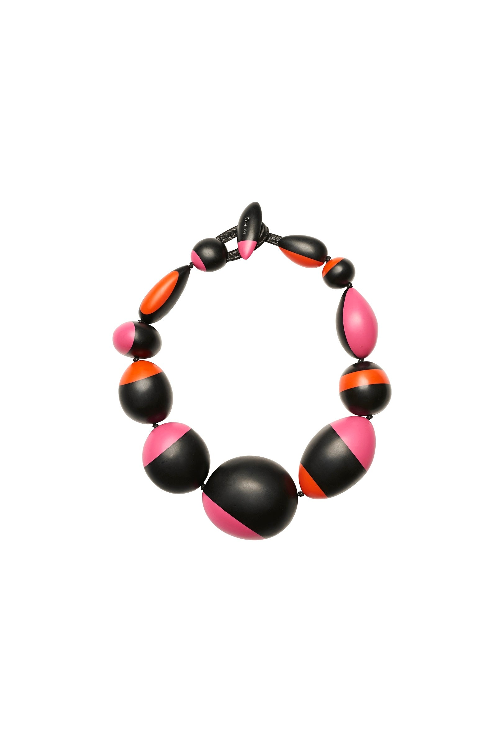 Necklace in polyester