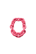 Load image into Gallery viewer, Katie necklace in pink polyester