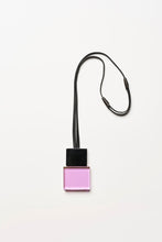 Load image into Gallery viewer, Pendant in purple and black polyester