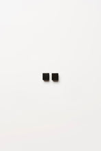 Load image into Gallery viewer, Earrings in black polyester