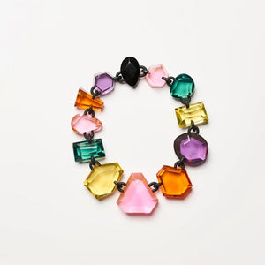 Kimberly necklace in multi colour polyester