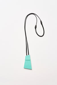 Bardolino pendant in polyester and leather